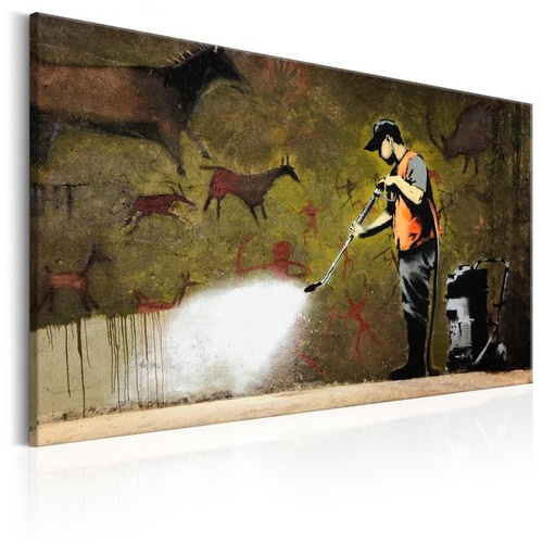 Poze Tablou - Cave Painting by Banksy
