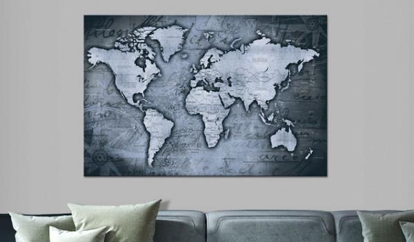 Tablou din plută - Sapphire World [Cork Map]
