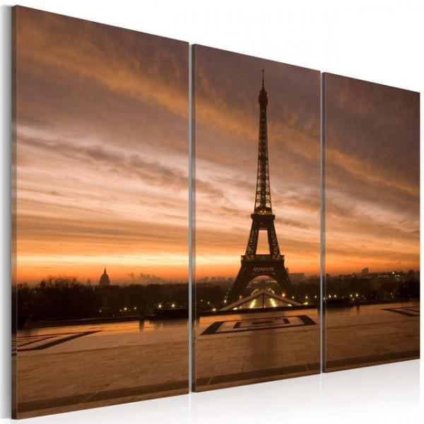 Tablou - Eiffel Tower at dusk