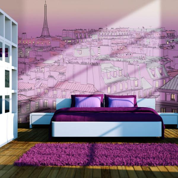 Fototapet - Friday evening in Paris