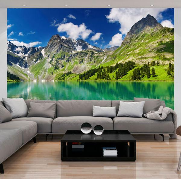 Fototapet - Mountain lake