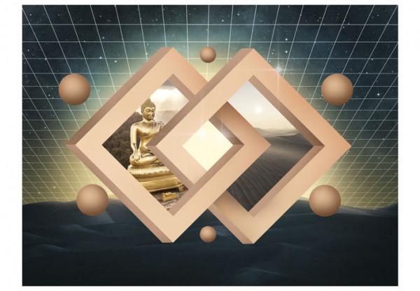 Fototapet - New dimension of Buddhism
