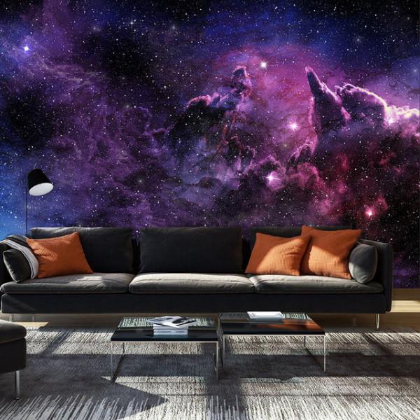 Fototapet - Purple Nebula