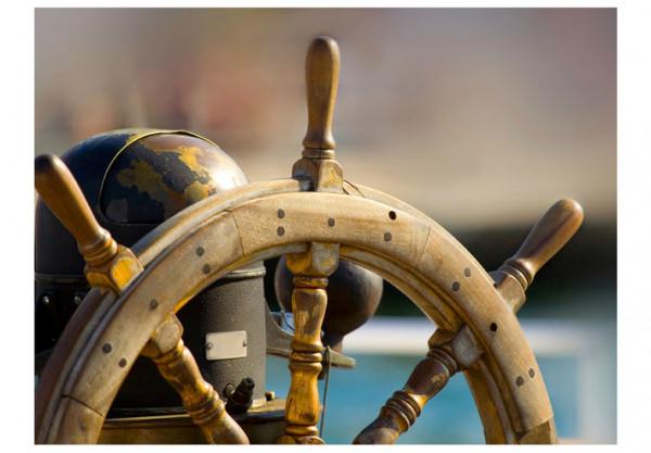 Fototapet - Steering wheel
