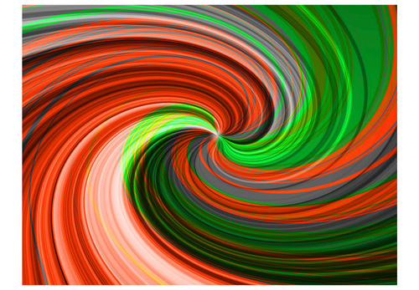 Fototapet - Swirling rainbow