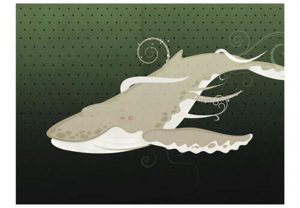 Fototapet - Underwater creature