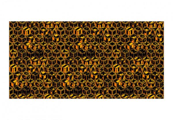 Fototapet XXL - Honey-coloured cubes