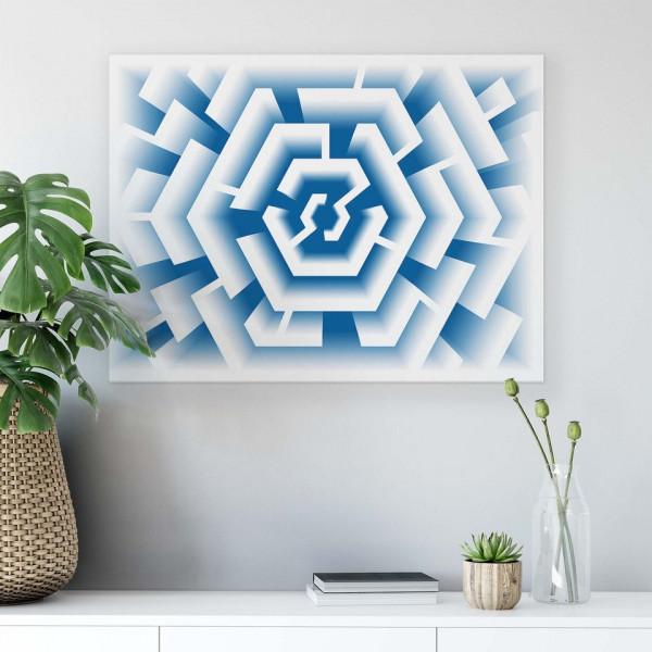 Geometric Canvas Photo Print