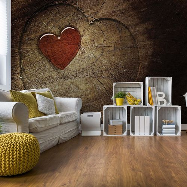 Heart Tree Photo Wallpaper Wall Mural