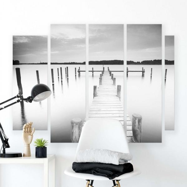 Lakes & Waterfalls Canvas Photo Print