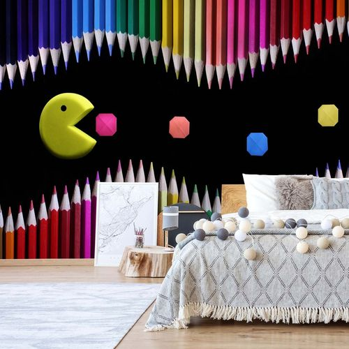 Packman Photo Wallpaper Mural