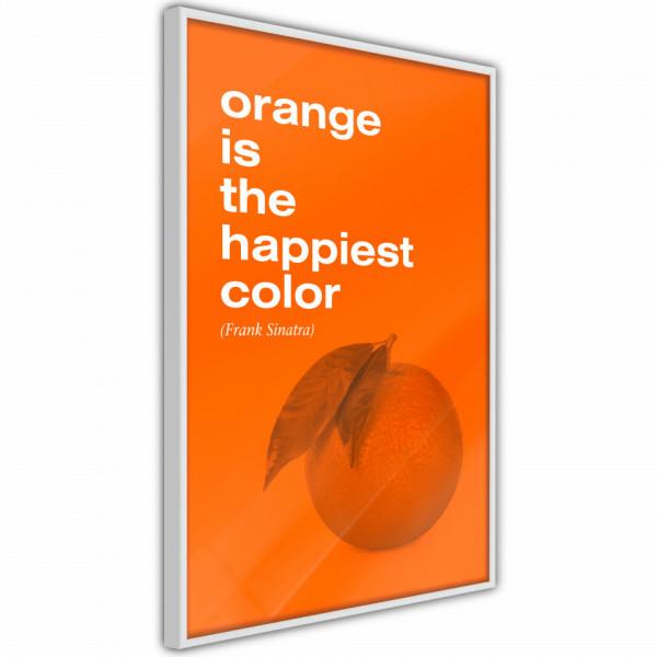 Poster - Orange Colour