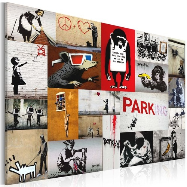 Tablou - Banksy - collage
