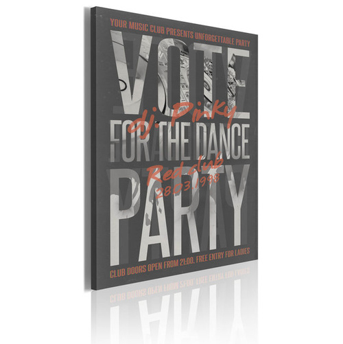 Poze Tablou - Vote for the dance party!