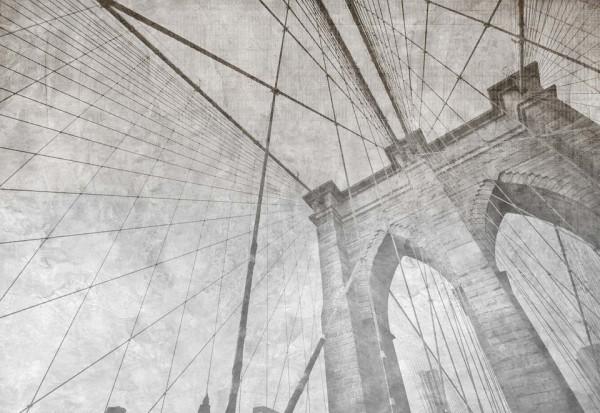 Brooklyn Bridge Grunge Mono