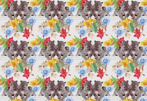 Cheetah Pattern Photo Wallpaper Wall Mural