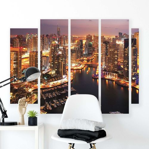 Cities Canvas Photo Print