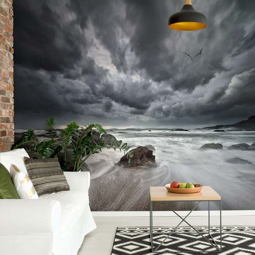 Flight Over Troubled Waters Photo Wallpaper Mural