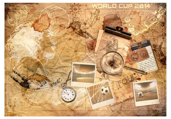 Fototapet - Football memories