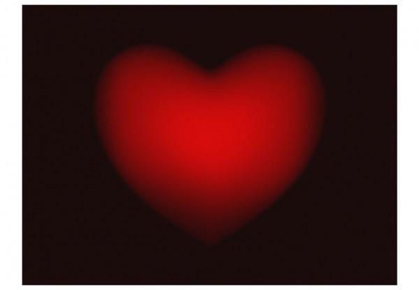 Fototapet - Shape of my heart