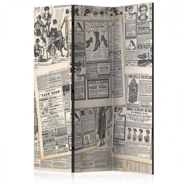 Paravan - Vintage Newspapers [Room Dividers]