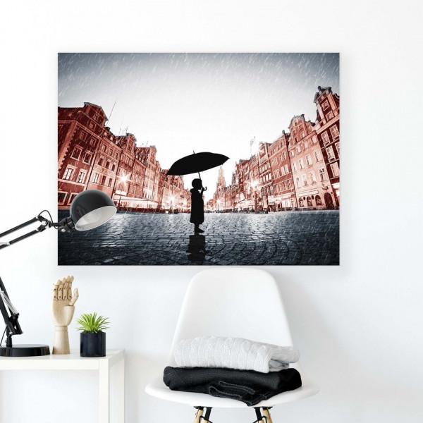 People Canvas Photo Print