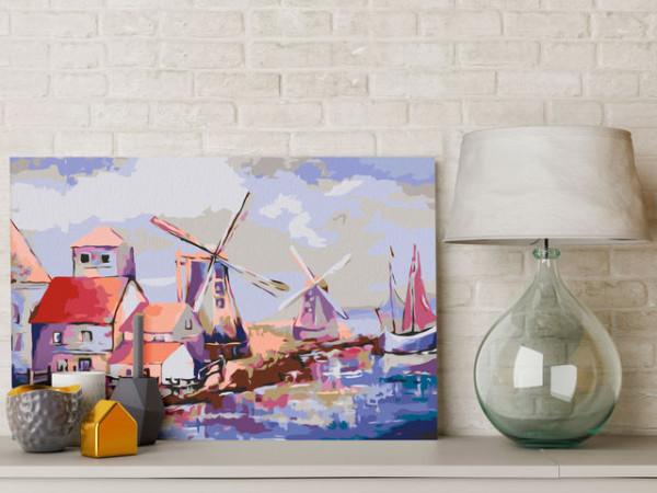 Pictatul pentru recreere - Windmills (Landscape)