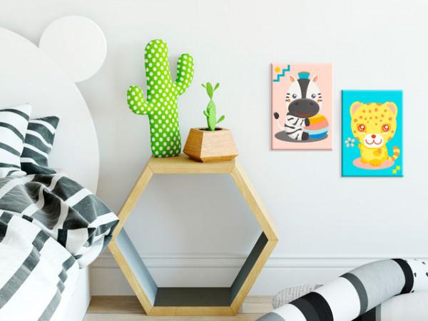 Pictatul pentru recreere - Zebra & Leopard