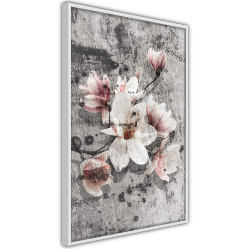 Poster - Flowers on Concrete