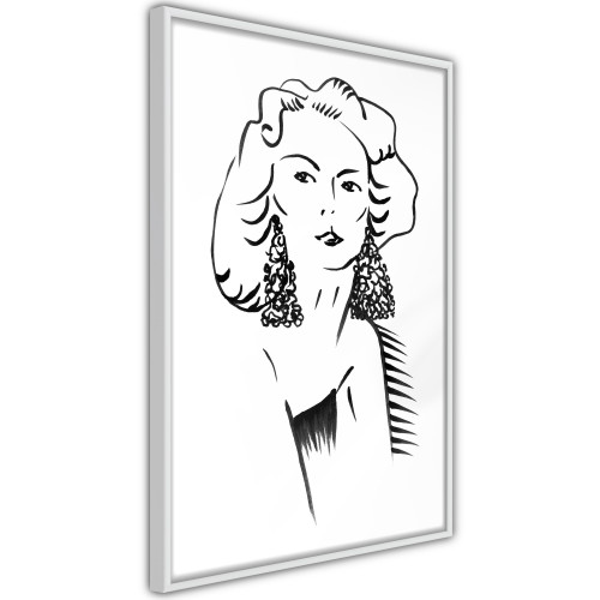 Poster - Hypnotic Earrings