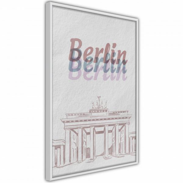 Poster - Pastel Berlin