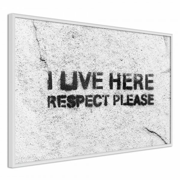 Poster - Respect