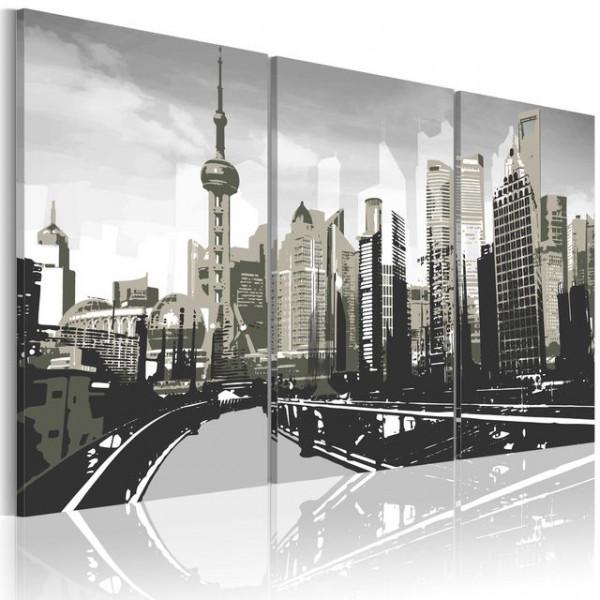 Tablou - Grey Shanghai