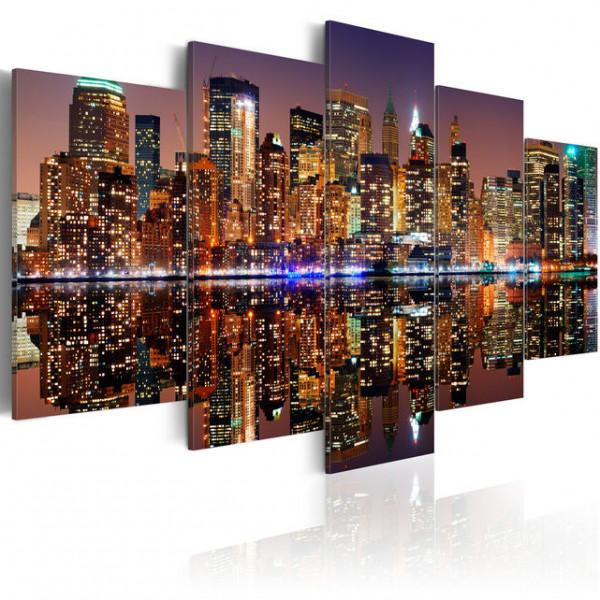 Tablou - NYC - mirror reflection
