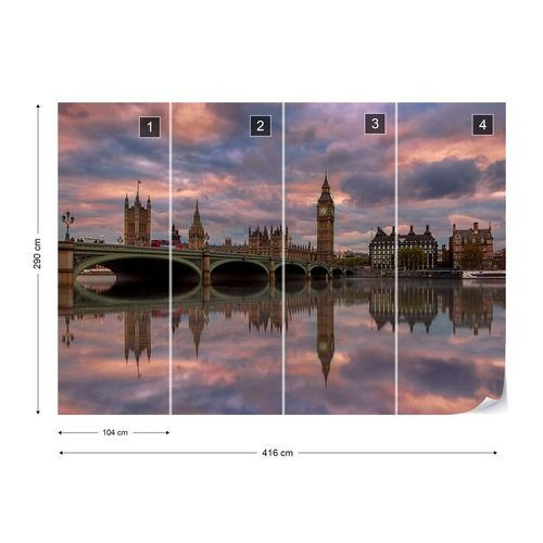 A Sunset To Remember Photo Wallpaper Mural