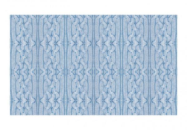 Fototapet - Blue pullover