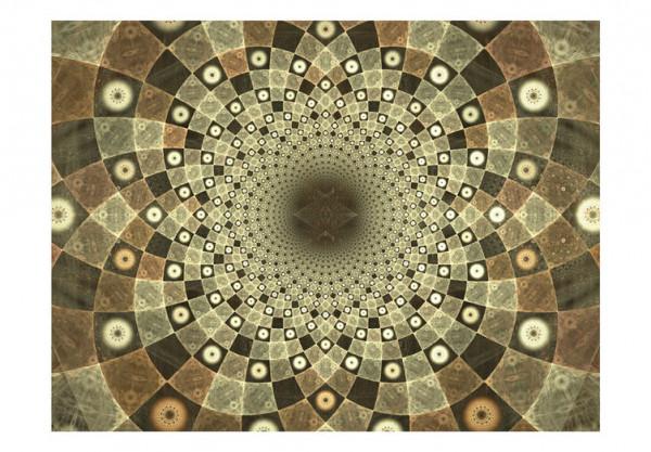 Fototapet - Brown mosaic
