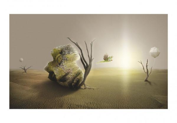 Fototapet - desert - abstract pattern