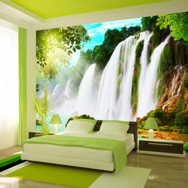 Fototapet - The beauty of nature: Waterfall