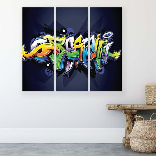 Graffiti Canvas Photo Print