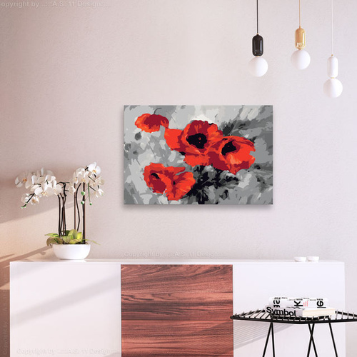Pictatul pentru recreere - Bouquet of Poppies