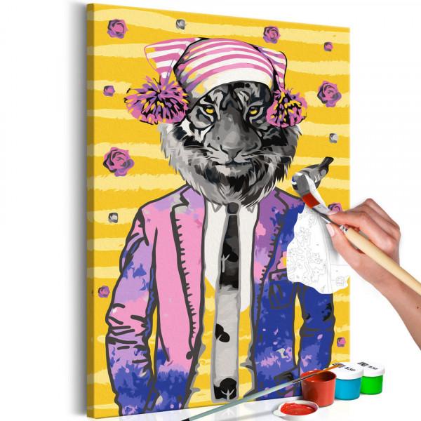 Pictatul pentru recreere - Tiger in Hat