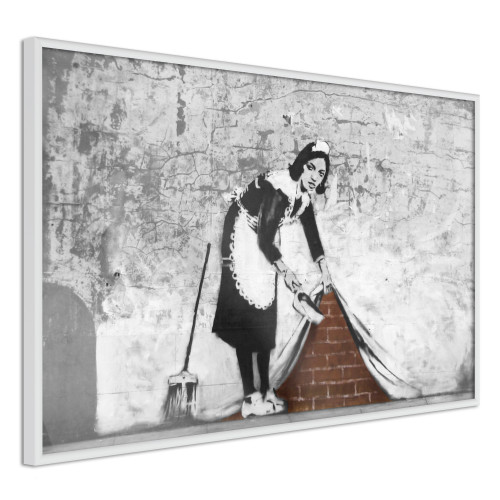 Poster - Banksy: Sweep it Under the Carpet