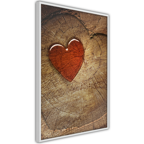 Poster - Carved Heart