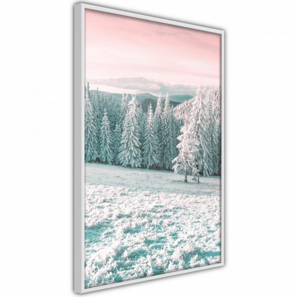 Poster - Frosty Landscape