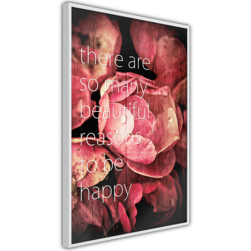 Poster - Many Reasons to Be Happy