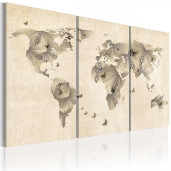 Tablou - Atlas of butterflies - triptych
