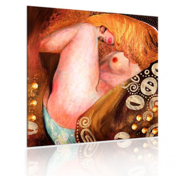 Tablou - Beautiful blonde woman