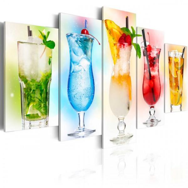 Tablou - Rainbow drinks