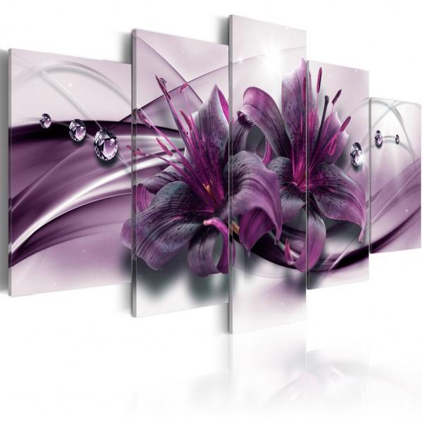 Tablou - Violet Lily